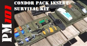 How To Build A Survival Kit With A Condor VA7 Pack Insert  – Preparedmind101
