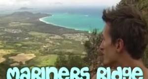 Illegal Hike   Mariners Ridge Oahu, Hawaii
