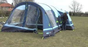 Inflating Camping Tent