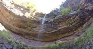 Kaaterskill Falls, Catskills NY Off-Trail hiking footage GoPro Hero 3+ Silver!