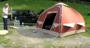Karsten inflatable tent / Tienda inflable