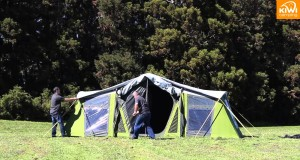 Kiwi Camping Moa Canvas Tent Series  – Pitching