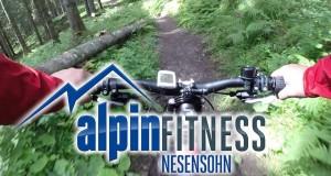 """Laterns Gapfohl (FalbaStuba) – Kühboden"" via Wanderweg / hiking trail (MTB/Mountainbike-Downhill)"