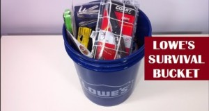 Lowe's Survival Kit – For Real?  YES INDEED!