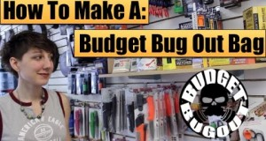 Making A Budget Bugout Bag [$100] | Buying Survival Kit Items — Budget Bug Out 2015