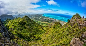 Mariner's Ridge Alternate Access via Hahaione Ridge / Hiking in Oahu, Hawaii