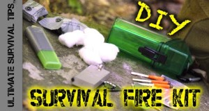 NEW! DIY Waterproof Survival FIRE Kit for Bug Out Bags / Survival Kits / Get Home Bags / Camping