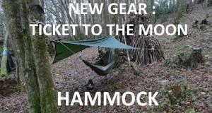 NEW sleeping GEAR : Ticket to the Moon HAMMOCK. Very cool !