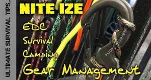 Nite Ize Blitz – Innovative EDC / Survival / Utility Gear Management Systems – SHOT Show 2015