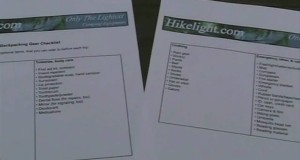 Only The Lightest, Ch 25: Ultralight Backpacking Gear Checklist