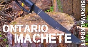 Ontario 12″ Survival / Camping Machete: Review and Chop Test