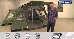 Outwell Birdland 5E Tent  | Innovative Family Camping | 2015