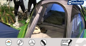 Outwell Cloud 3 Tent  | Innovative Family Camping | 2015