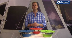 Outwell Collaps Pots with colander and lid | Innovative Family Camping