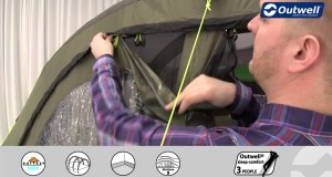 Outwell Corvette M Tent | Innovative Family Camping