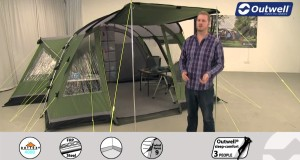 Outwell Montana 4E Tent  | Innovative Family Camping | 2015
