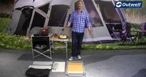 Outwell Vancouver Kitchen Table | Innovative Family Camping