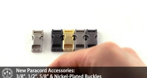 Paracord Accessories: New Buckle Arrivals!