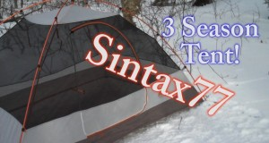 Pitching a 3 Season Tent in Winter – Snow Camping – Sintax77