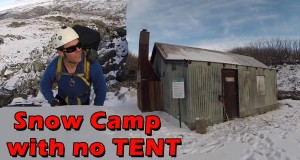 Snow Camping without Tents Part 1