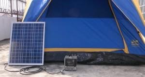 Solar Camping – Solar Electric – Solar Tent