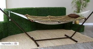 The Comfort of a Cotton Rope Hammock