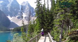 Virtual Hike At Moraine Lake (For Treadmills, and Stationary Bikes) 18 Minute Workout