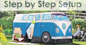 VW Bus Camping Tent | Solutions