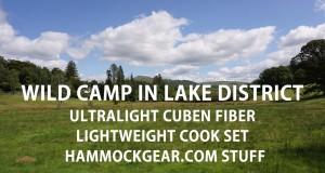 Walk and Overnight With Cuben Fiber Tarp, Lightweight Cookset And Hammock Gear Stuff
