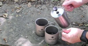 Want the best coffee while hiking?  Brew coffee outdoors!