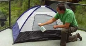 Waterproof your tent with Dry Guy Waterproofing Spray