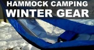 Winter Camping – Hammock Gear Testing